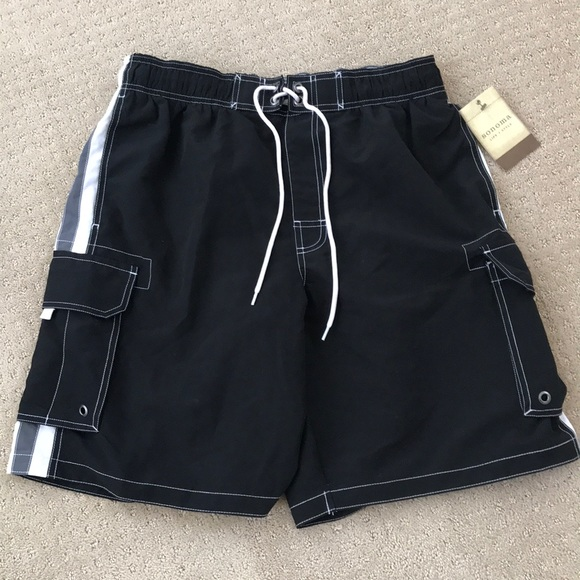 47a7b55716 Sonoma Swim | Mens Black Trunks W Cargo Pockets L | Poshmark